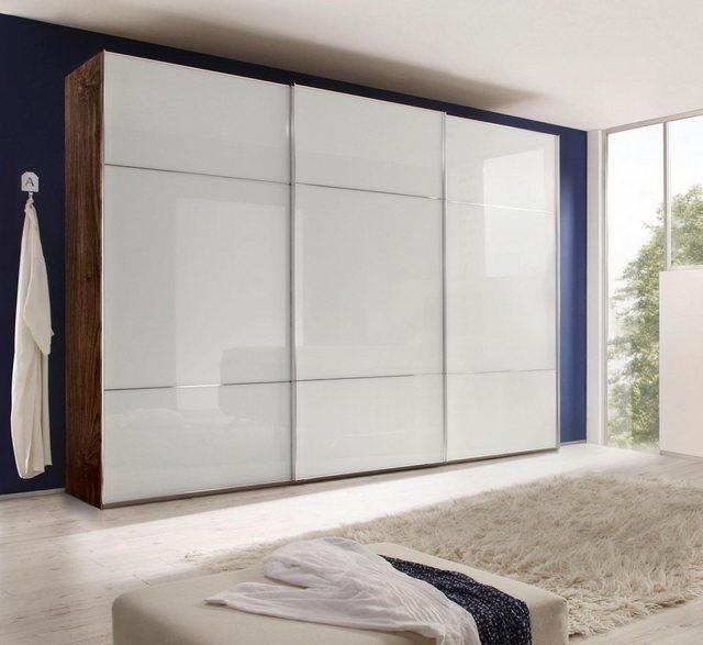 Kleiderschränke - nolte® Möbel Schwebetürenschrank »Marcato 3« mit Fronten aus Weißglas  - Onlineshop OTTO