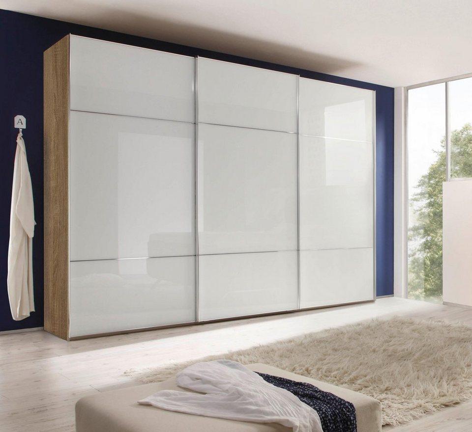 nolte® Möbel Schwebetürenschrank »Marcato 3« mit Fronten aus Weißglas  online kaufen | OTTO