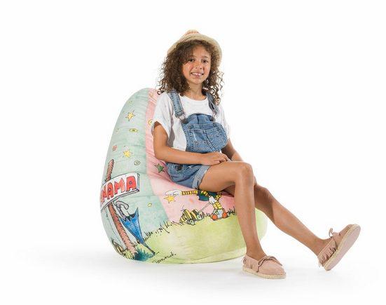Sitting Point Sitzsack »Sitzsack Beanbag JANOSCH«  offizielles Lizenzprodukt