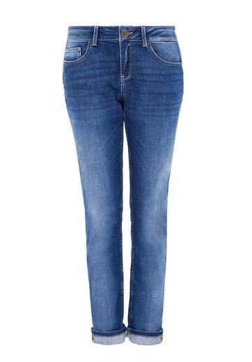 HALLHUBER Boyfriend Jeans im Used-Look