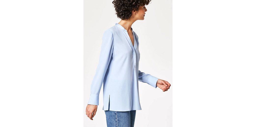 Verkauf Outlet-Store HALLHUBER Tunika-Bluse mit Seideneinfassung Shop-Angebot Günstiger Preis Extrem Online dzqk842R