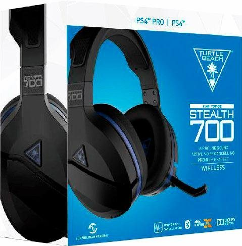 turtle beach stealth 700 ps4 gaming headset noise. Black Bedroom Furniture Sets. Home Design Ideas
