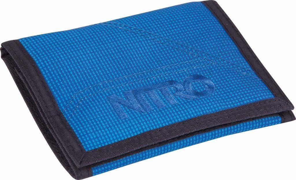 Nitro Geldbörse, »Wallet Blur Brilliant Blue«