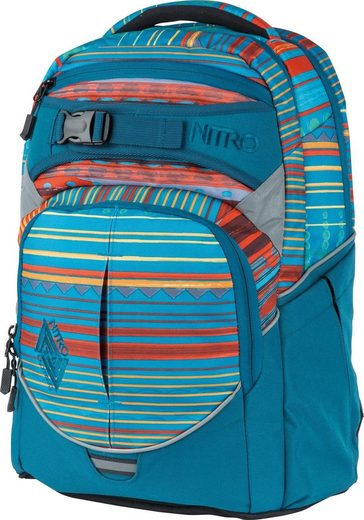 NITRO Schulrucksack »Superhero Canyon«, mit gratis Pencil Case & Duffle Bag