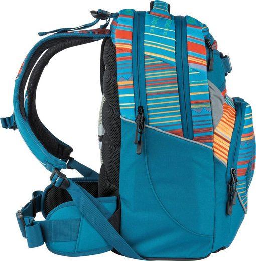 NITRO Schulrucksack »Superhero Canyon«  mit gratis Pencil Case & Duffle Bag