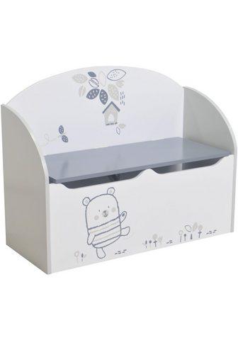 DEMEYERE GROUP Suoliukas-dėžė »Toy«
