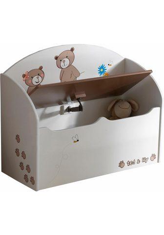 DEMEYERE GROUP Demeyere Dėžė žaislams »Ted & Lily«