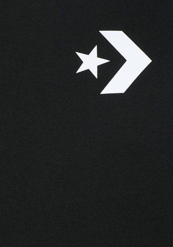 - Herren Converse Langarmshirt CONVERSE STAR CHEVRON WORDMARK LONG SLEEVE TEE schwarz | 00888755333075