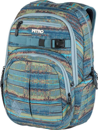NITRO Schulrucksack »Chase, Frequency Blue«