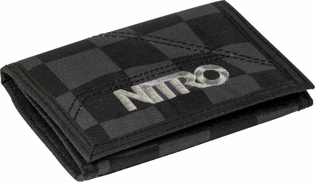 Nitro Geldbörse, »Wallet Black Checker«
