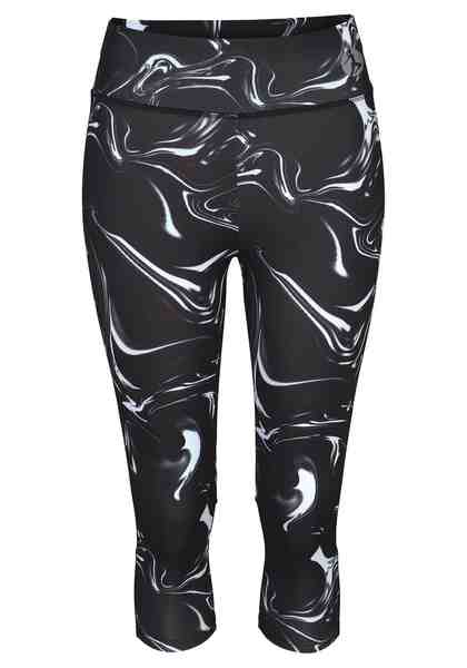 active by LASCANA Capri-Leggings mit breitem Bund