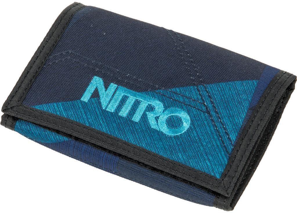 Nitro Geldbörse, »Wallet Fragments Blue«