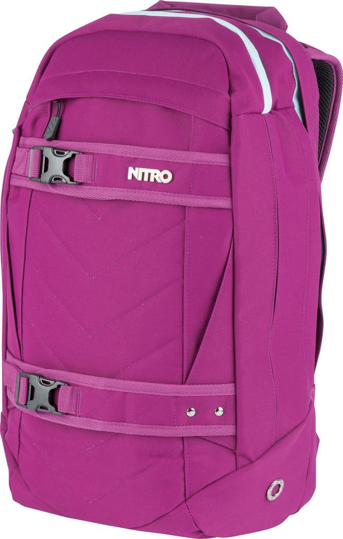 Nitro Schulrucksack mit 15-Zoll Laptopfach, »Aerial Grateful Pink«