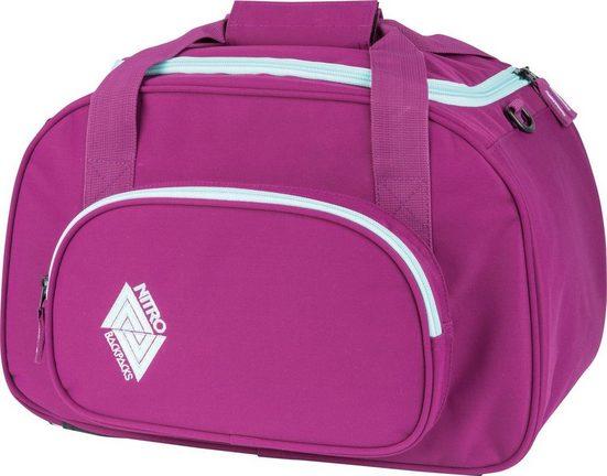 NITRO Reisetasche »Duffle Bag XS Grateful Pink«