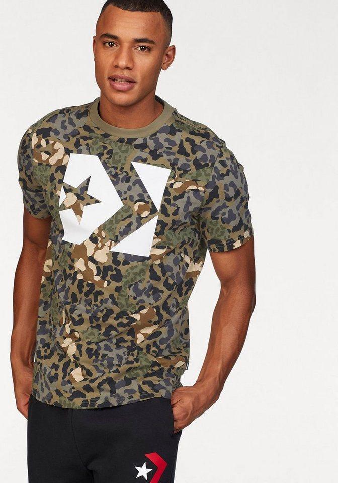 a9dd03edf05afa Converse T-Shirt »CONVERSE STAR CHEVRON BOX CAMO TEE« online kaufen ...