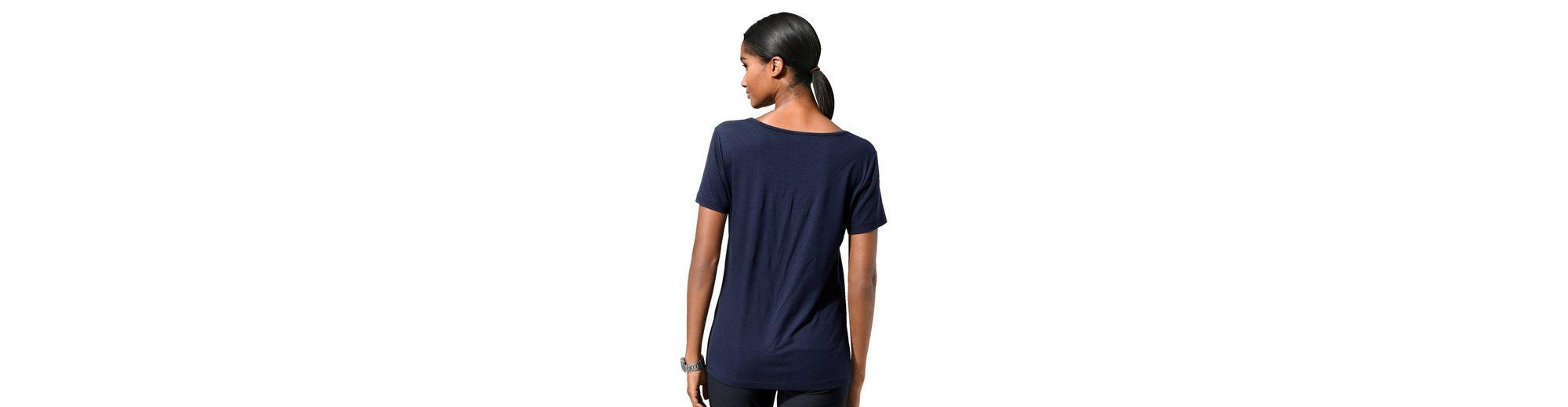 Wählen Sie Eine Beste Günstig Online Shop-Angebot Online Alba Moda Shirt mit floralen Cut-Outs am Ausschnitt Für Billig Zu Verkaufen Verkauf Offizielle xqv5mWgPz