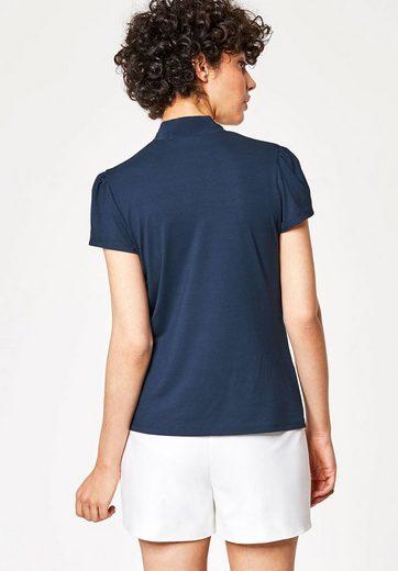 T-shirt Hallhuber Avec Fil De Soie