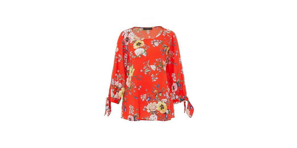 HALLHUBER Crêpe-Bluse mit gebundenen Manschetten Auslass Zum Verkauf MdaLShWa2y