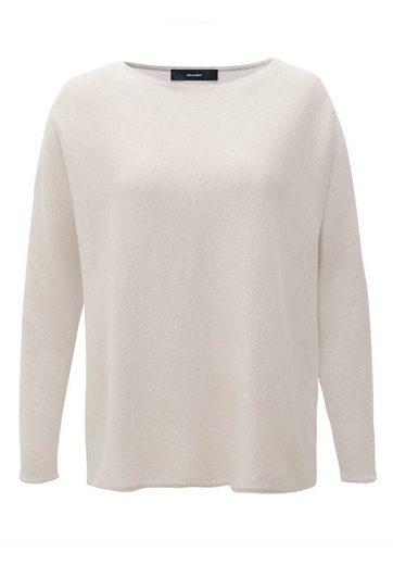 HALLHUBER Oversize-Pullover aus Lurex-Feinstrick