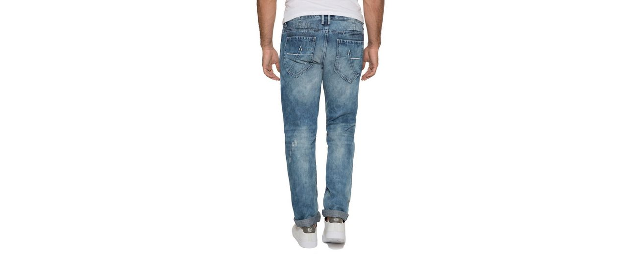 CAMP DAVID Regular-fit-Jeans Billig Exklusiv vhf61YSy