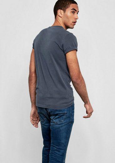 Q/s Designed By Crew Neck Basic-shirt