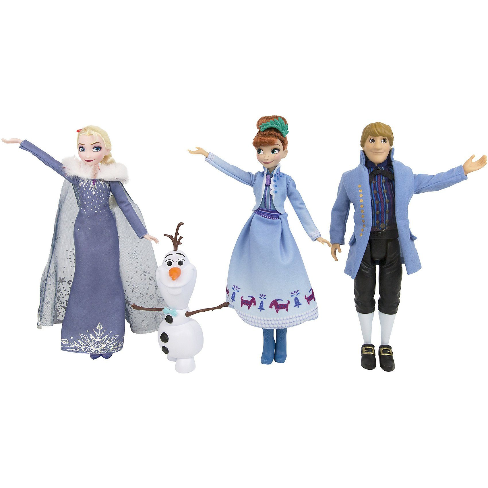 Hasbro Die Eiskönigin Olafs Holiday Adventure Wahre Freunde