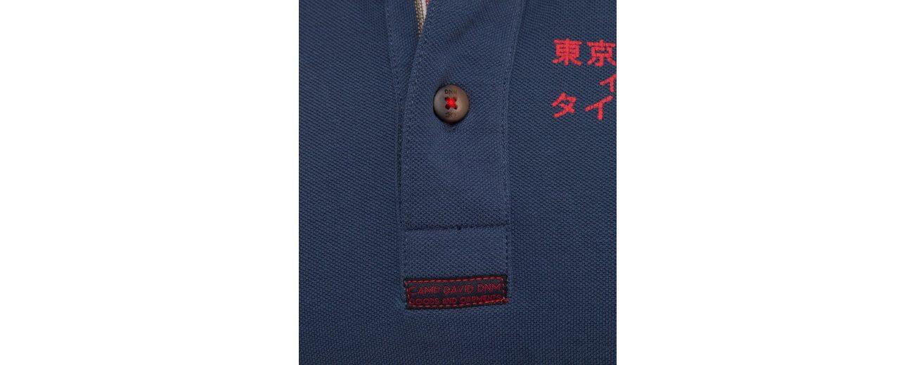 Outlet Kollektionen CAMP DAVID Poloshirt Wählen Sie Eine Beste M2XBFR