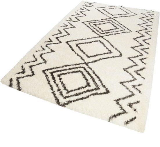 Hochflor-Teppich »Yagour«, Wecon home, rechteckig, Höhe 50 mm, Besonders weich durch Microfaser