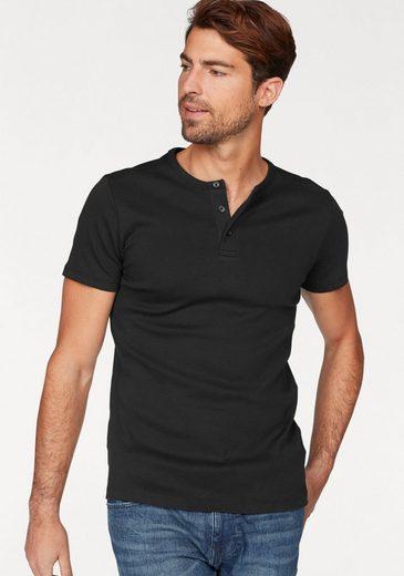Esprit Henley Shirt, Made Of Cotton