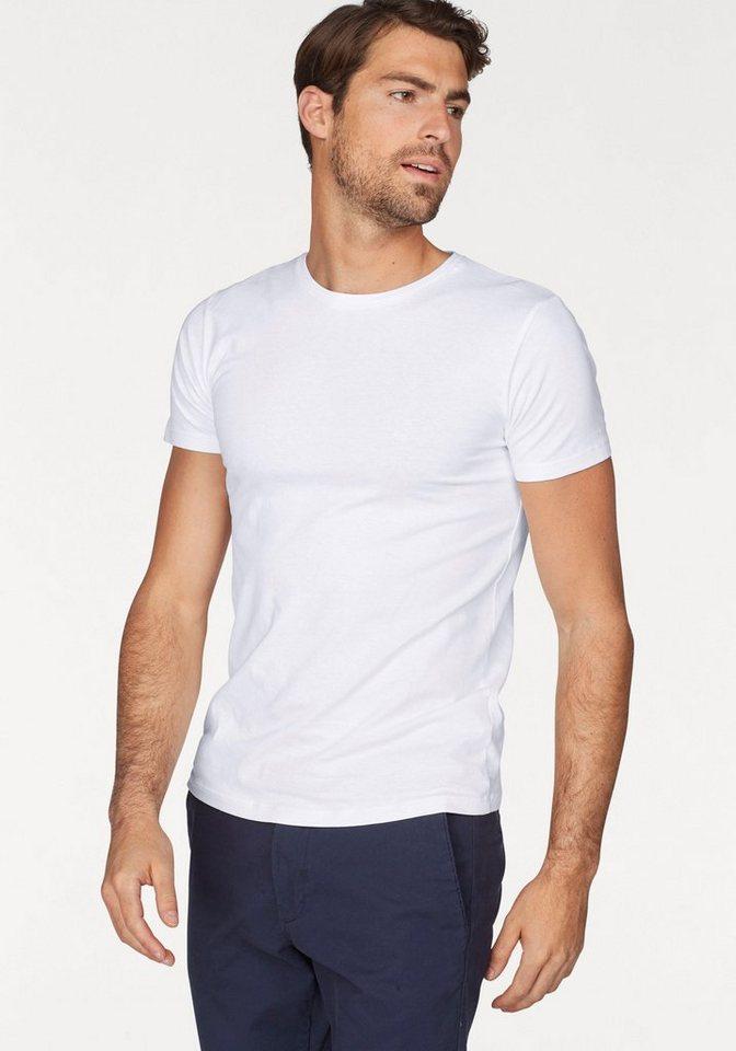 Herren Esprit T-Shirt aus Baumwolle weiß | 04059601153413