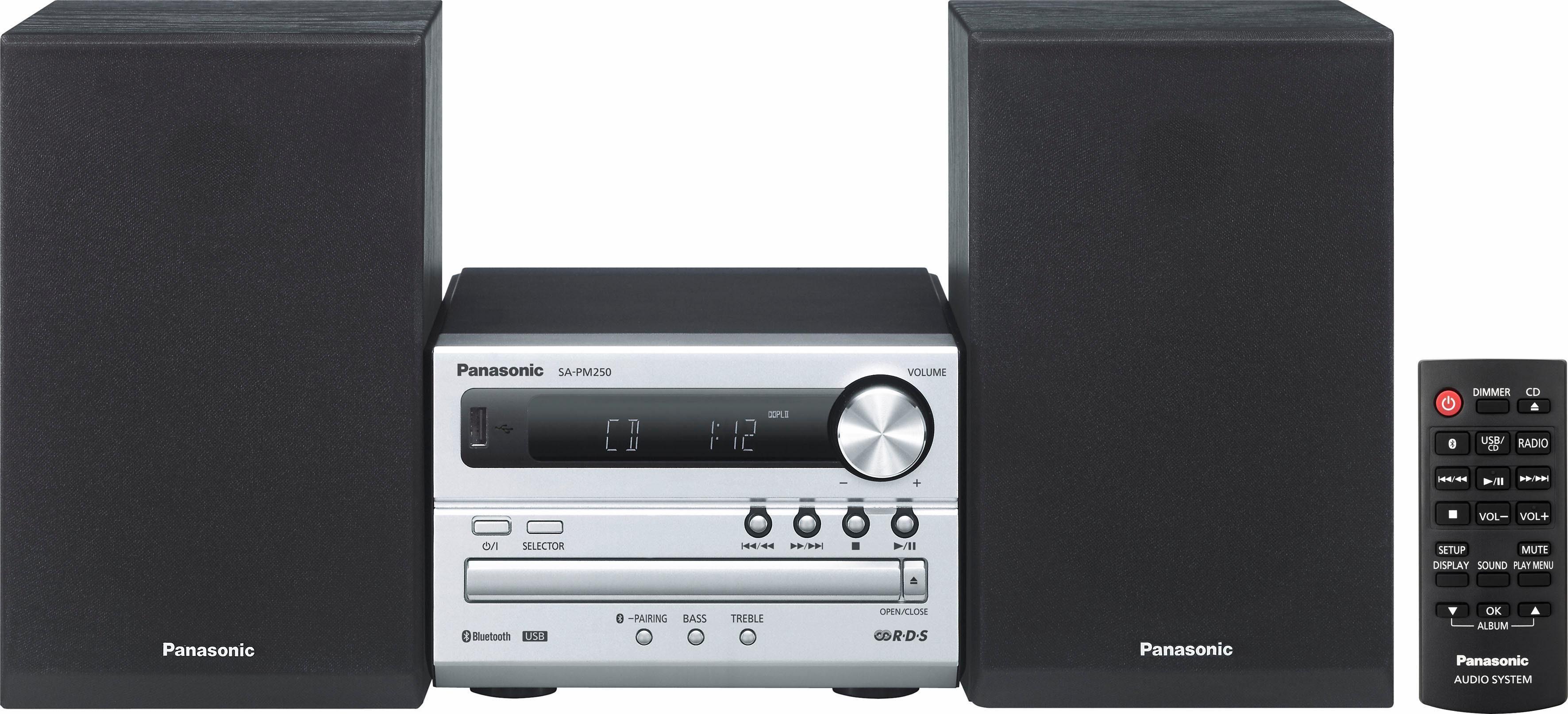 Panasonic SC-PM 250 Microanlage