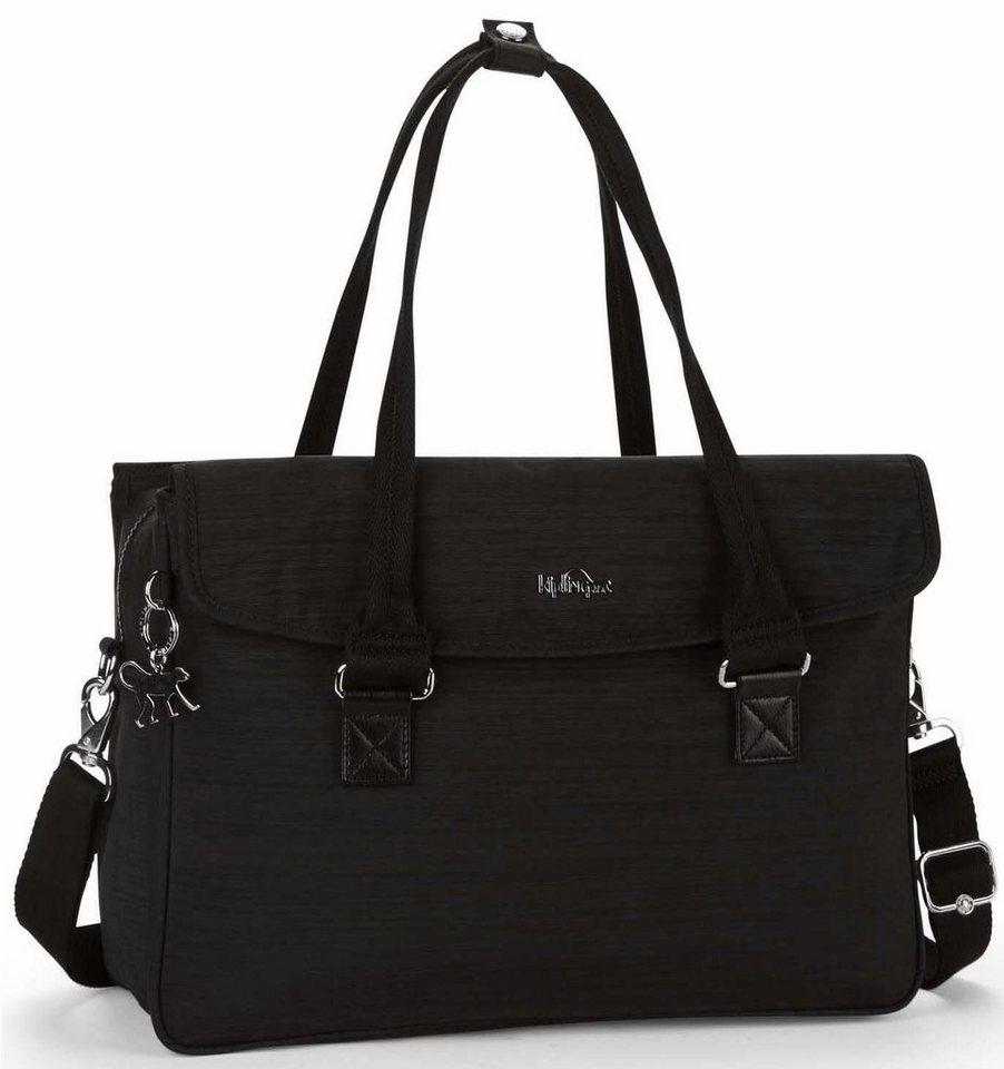 Kipling Businesstasche mit 13-Zoll Laptopfach, »SUPERWORK S«   Taschen > Businesstaschen   Schwarz   Metall   KIPLING