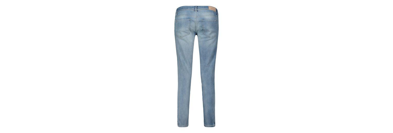 Factory-Outlet-Verkauf Freies Verschiffen Begrenzte Ausgabe Betty&Co Jeans in verwaschener Optik mit seitlichen Reißverschlüssen AeGFj7