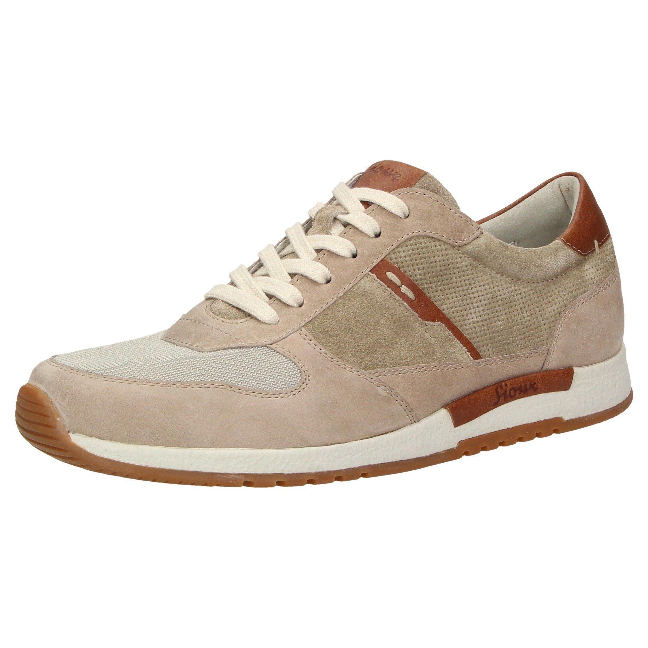 SIOUX Rodon Sneaker online kaufen  beige-braun