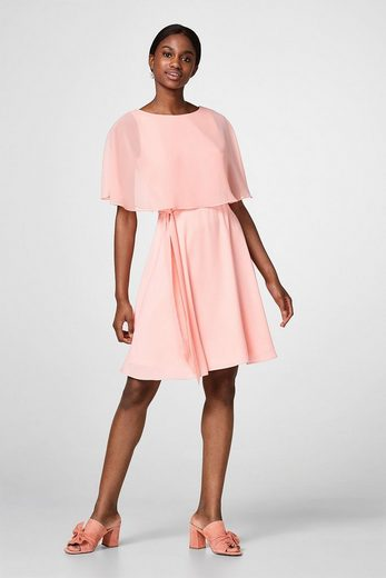 Esprit Collection Shimmering Dress With A Fixed Landscape