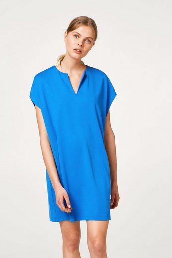 ESPRIT Weich fallendes Jersey-Kleid im Oversize-Style