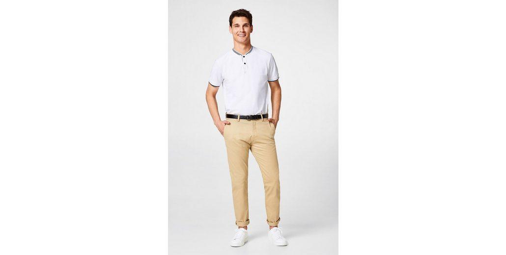 Steckdose Reihenfolge ESPRIT COLLECTION Piqué-Poloshirt mit gestreiftem Stehkragen Verkauf Rabatt Steckdose Zuverlässig Auslass Sast t4VLNTCX