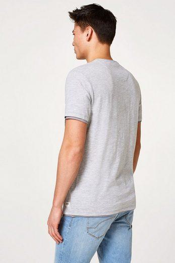 EDC BY ESPRIT Print-Shirt aus Baumwolljersey