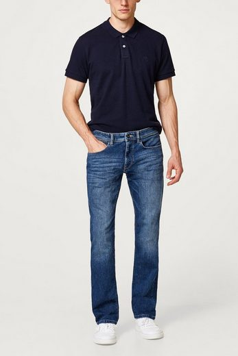 Esprit Stretch Jeans With Wrinkle-effects