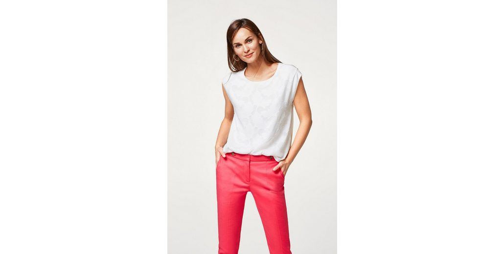 ESPRIT COLLECTION Blusen-Shirt in floralem Ausbrenner-Look Günstigsten Preis Zu Verkaufen Günstig Kaufen Erkunden Kostenloser Versand W7NBj