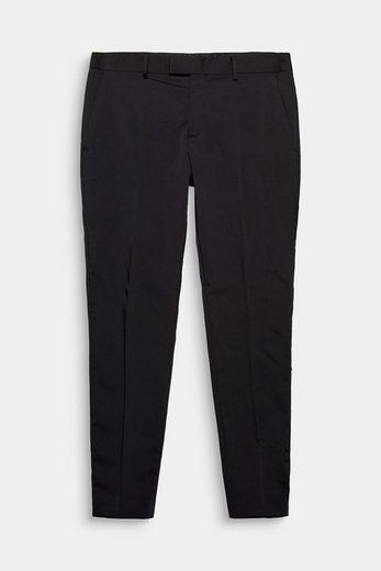 ESPRIT COLLECTION Anzughose aus Stretch-Twill