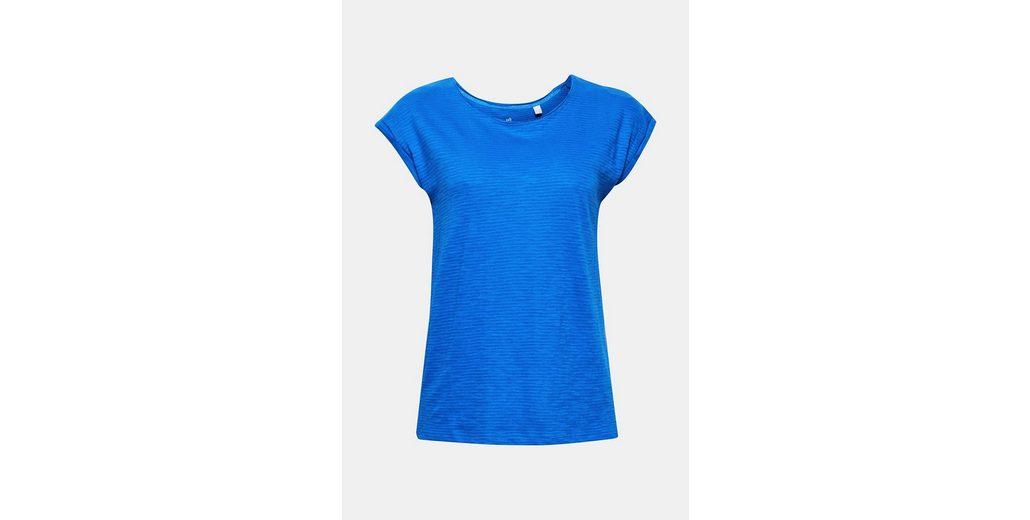 Luftiges Slub Cotton ESPRIT Shirt mit ESPRIT Organic Luftiges PxEtnzzwgR