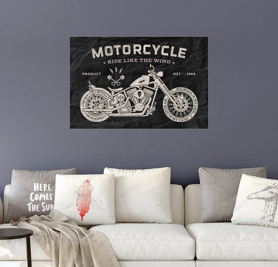 posterlounge wandbild motorrad online kaufen otto. Black Bedroom Furniture Sets. Home Design Ideas