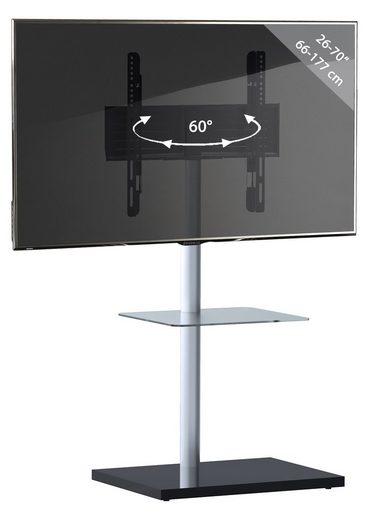 VCM »TV Standfuß Alu Nalano mit Zwischenboden« TV-Ständer