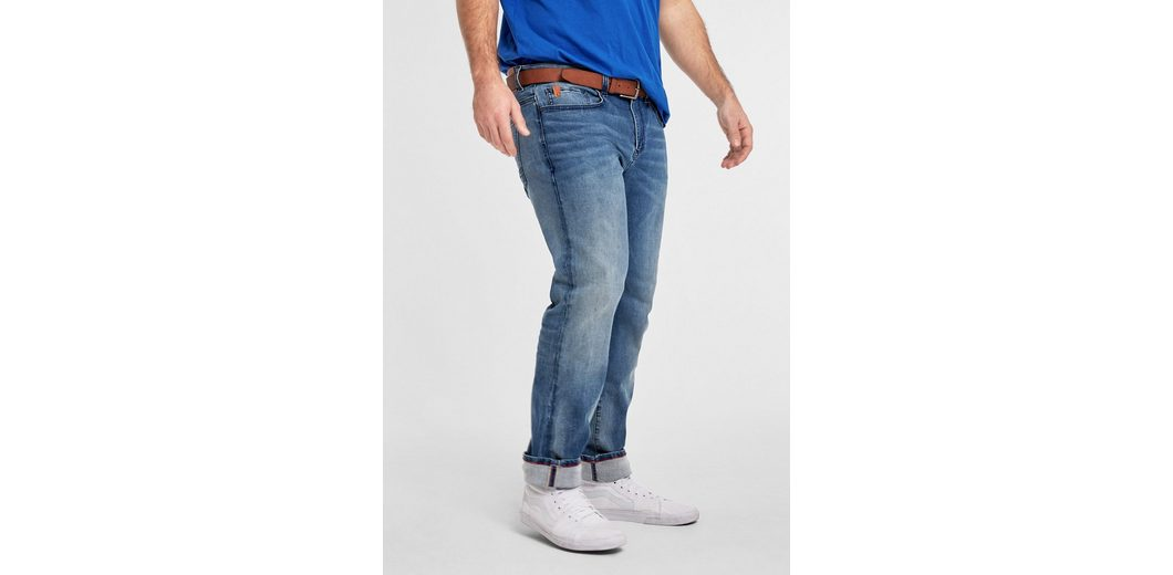 s.Oliver RED LABEL Scube Relaxed: Powerflex-Jeans 100% Authentisch Günstiger Preis TnTED
