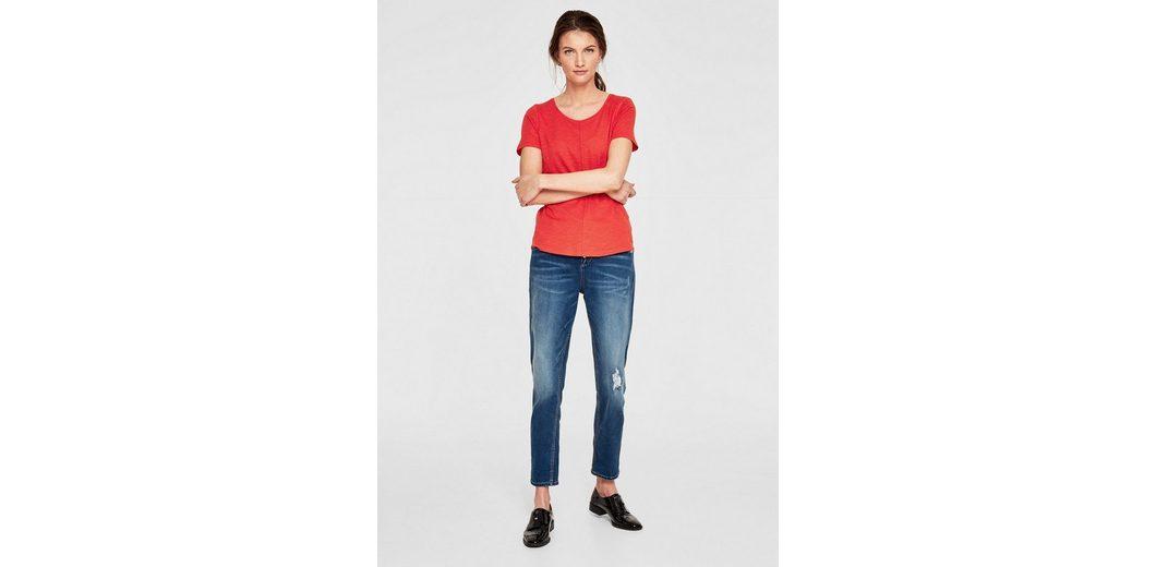 s.Oliver RED LABEL Slub Yarn-Shirt mit Teilungsnähten Billige Neue Stile 7rEhsj
