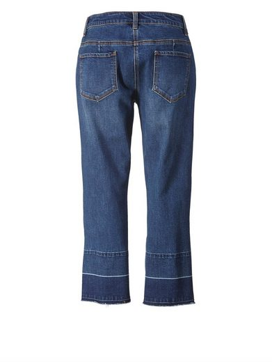 Angel of Style by Happy Size 7/8 Straight Cut Jeans