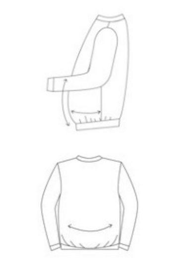 Men Plus by Happy Size Spezial-Bauchschnitt Sweatshirt