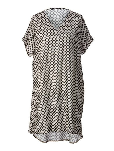 Sara Lindholm by Happy Size Kleid mit Allover-Print