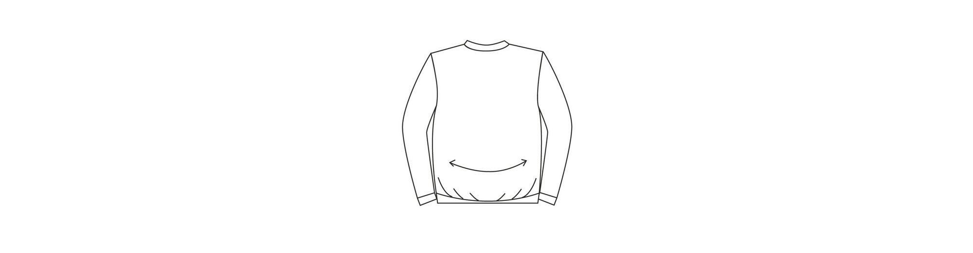 Extrem Zum Verkauf Men Plus by Happy Size Spezial-Bauchschnitt Sweatshirt mit Kapuze Outlet Günstigen Preisen Freies Verschiffen 2018 Unisex Große Diskont Online Angebote Günstigen Preis i9mltzXUAk